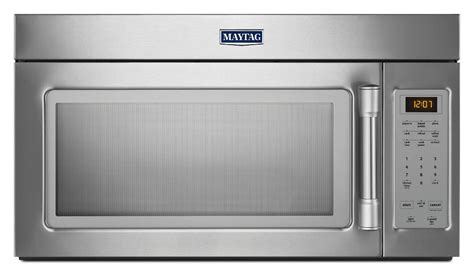 maytag microwave auto fan turn off maytag mmv1174ds 1 7 cu ft microwave hood