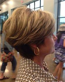 haircuts 50 back of short hairstyles for women over 50 back view