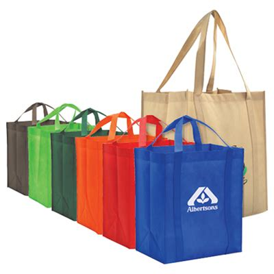 Bag Item promotional reusable grocery tote bags