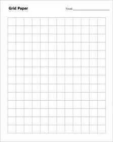 One Inch Graph Paper Template by Sle Graph Paper 6 Documents In Pdf