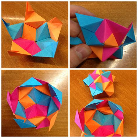 Origami Post It - papel archivos el de viking office depot