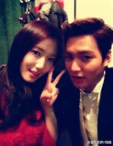 The heirs selca lee min ho and park shin hye minoz forever