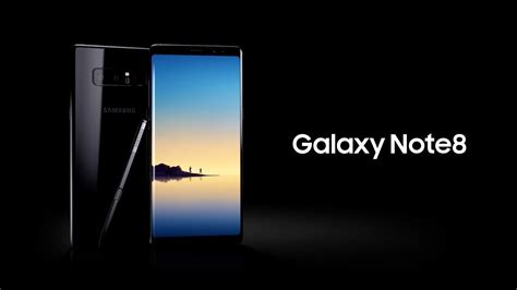 samsung galaxy note8 official introduction