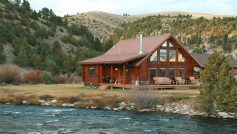 Cabins In Montana For Rent by Montana Vacation Rental Cabin Twisted Fork At Rock Creek