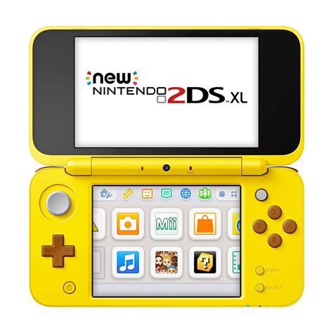 console nintendo 2ds new nintendo 2ds xl pikachu edition console the gamesmen