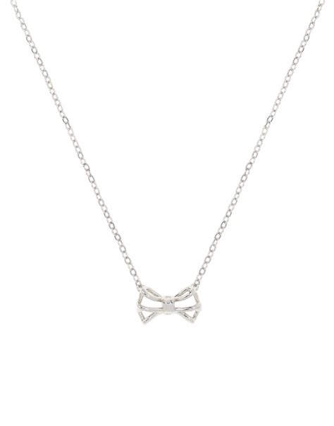 Ted Baker Necklace Bow Top by Ted Baker S Glena Tiny Geometric Bow Pendant