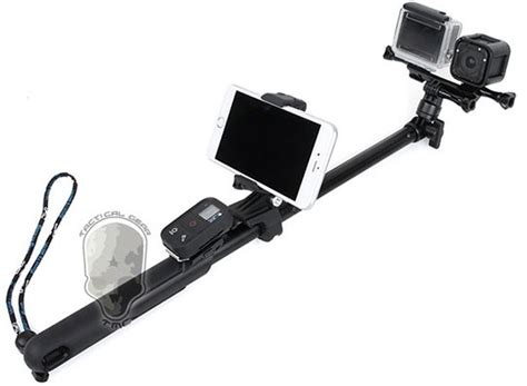 Murah Tmc Cnc Aluminum Replacement Clip For Gopro tmc monopod with smartphone holder gopro remote holder