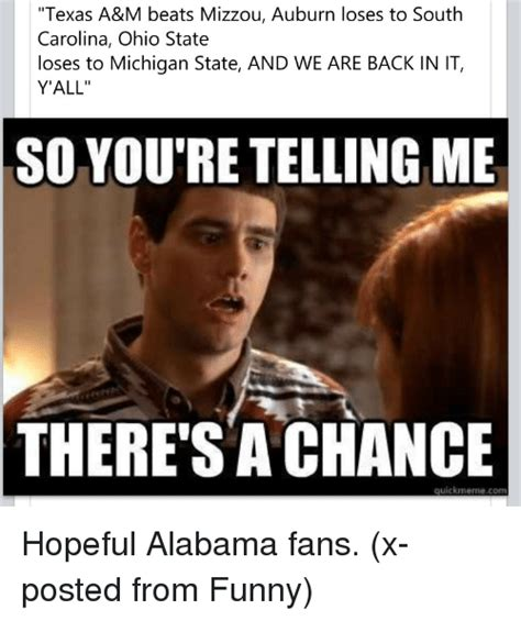 Funny Ohio State Memes - texas a m beats mizzou auburn loses to south carolina ohio