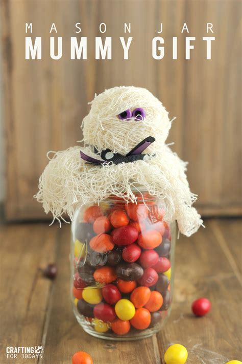 Halloween Mummason Jar  Ee  Gift Ee
