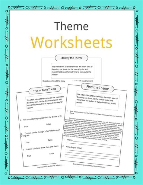 englishlinx com theme worksheets finding the theme of a story worksheets resultinfos