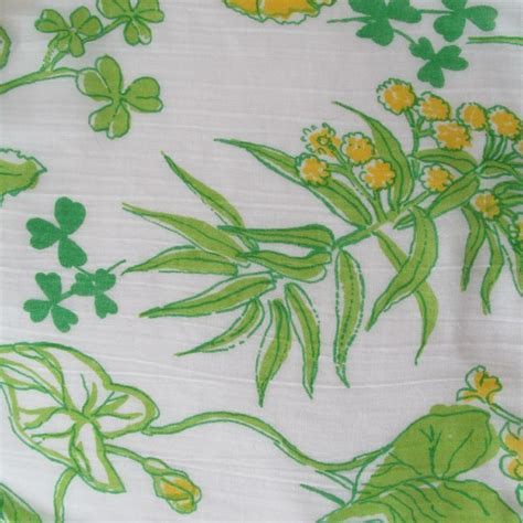 lilly pulitzer vintage pattern names vintage lilly pulitzer shamrock print from vintage the