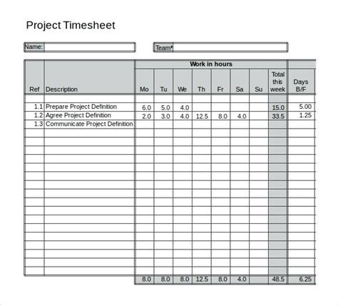 Excel Timesheet Templates Standardbaku Club Free Excel Timesheet Template With Formulas