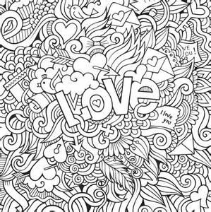 love doodles doodle coloring pages