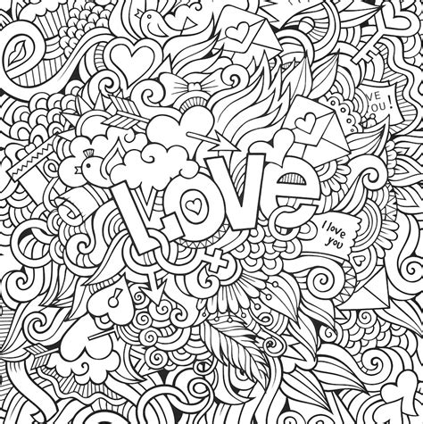 doodle and doodles doodle coloring pages