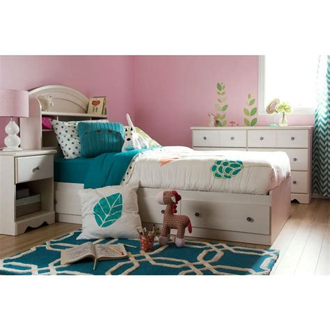 twin bed with drawers and bookcase headboard twin mates bed south shore tiara twin mates bed with