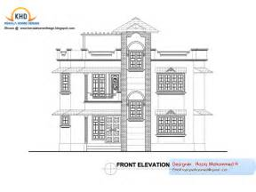 Elevation Floor Plan home plan and elevation kerala home design and floor plans