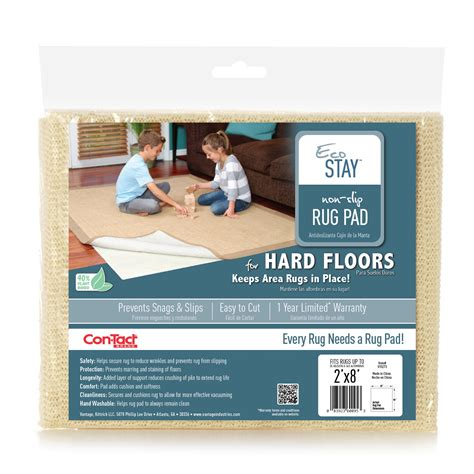eco stay rug pad contact eco stay rug pad 2 x8 home home decor rugs rug pads accessories