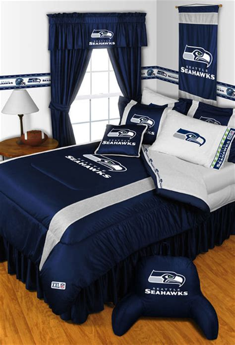 nfl bedrooms nfl seattle seahawks bedding and room decorations modern