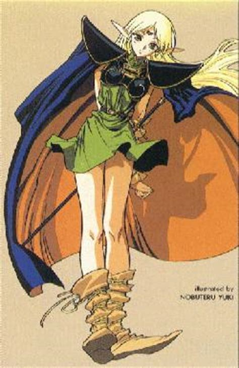 deedlit • record of lodoss war • absolute anime