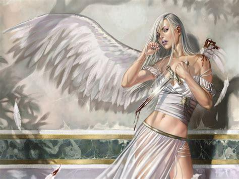 wallpaper girl angel new art funny wallpapers jokes pics best top fantasy