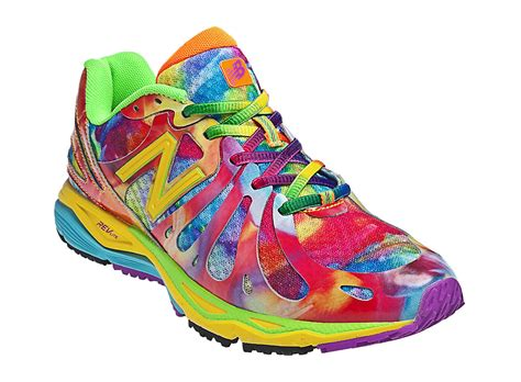 tie dye running shoes new balance womens tie dye 890v3 w890tg3 yellow with