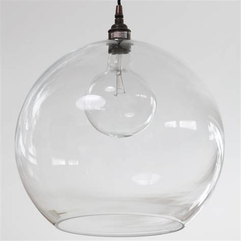 Pendelleuchte Glas by Zeitlose Kugel Pendelleuchte Mit Offenem Glas Casa Lumi