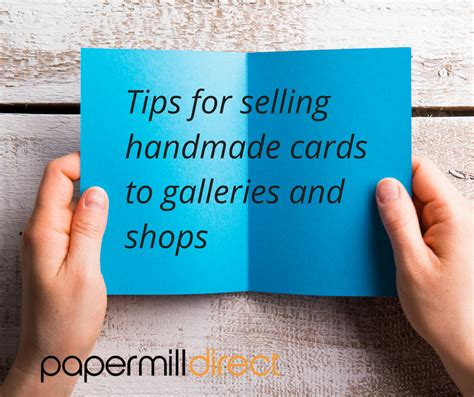 How To Sell Handmade Cards - card supplies papermill direct