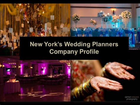 Mba Event Planning New York by New York S Wedding Planners Company Profile