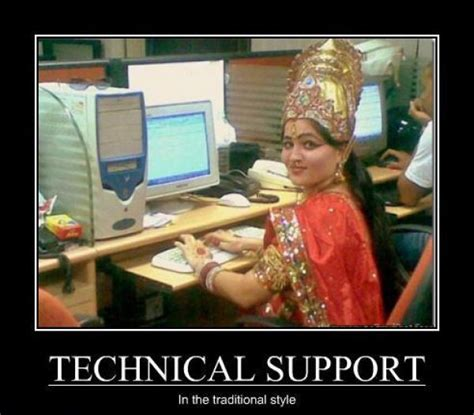 It Support Meme - the technical support in india