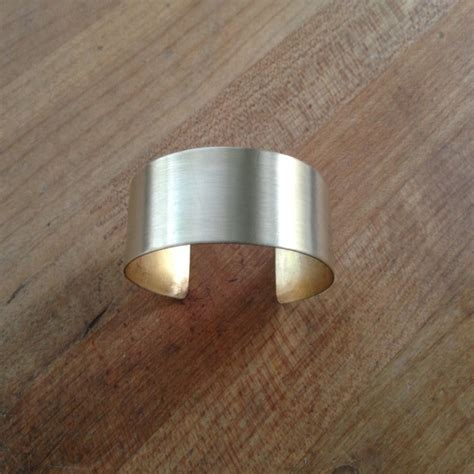 how to make brass jewelry how to make a cuff in 8 simple steps