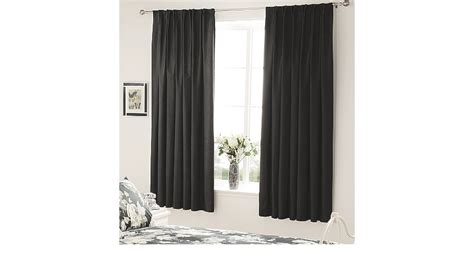 silk bedroom george home black faux silk bedroom curtains curtains