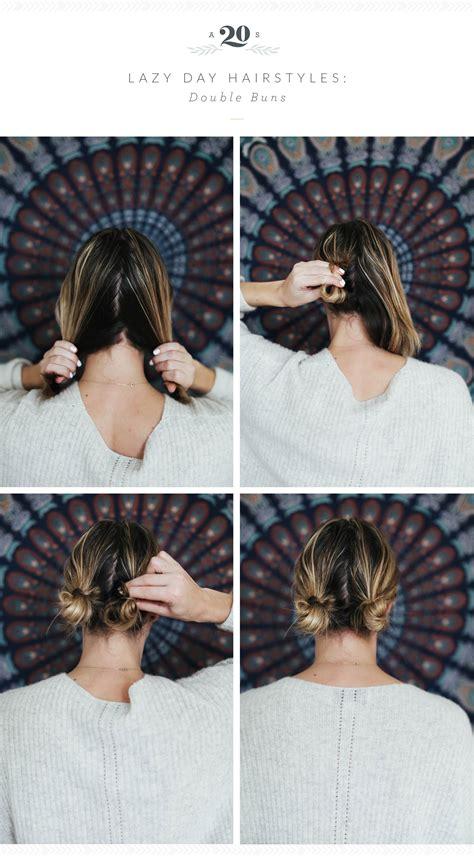 easy hairstyles  lazy days advice   twenty