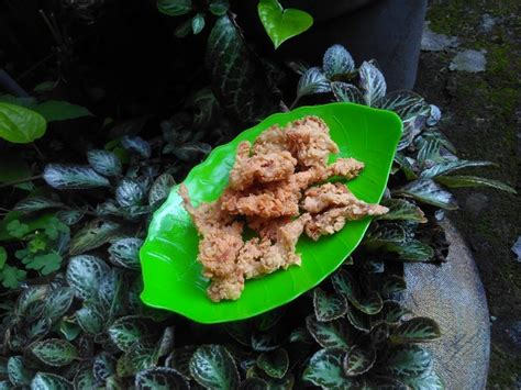 Tepung Bumbu Pelapis cara membuat jamur crispy yang enak renyah keriting dan