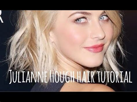 how to make your hair like julianne hough from rock of ages julianne hough short hair tutorial youtube