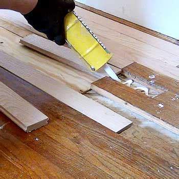 Bungalow Hardwood Floor Repair, Refinish