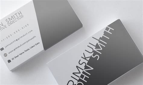 Black And White Business Card Template By Nik1010 On Deviantart Black And White Card Templates