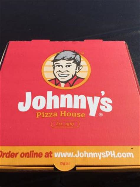 johnnys pizza house delivery box picture of johnny s pizza house bossier city tripadvisor