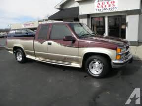 1997 Chevrolet Silverado For Sale 1997 Chevrolet 1500 Silverado For Sale In Cincinnati Ohio