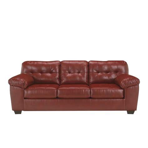 ashley sleeper sofa reviews ashley furniture alliston durablend queen sleeper sofa in