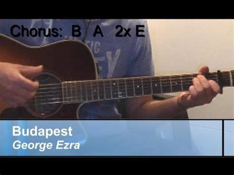 budapest guitar tab by george ezra guitar tab 160827 guitar lesson quot budapest quot george ezra easy original