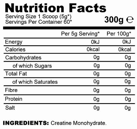 creatine nutrition facts creatine nutrition label nutrition ftempo