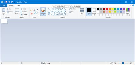 windows 10 paint tutorial paint app restore in windows 10 page 2 windows 10