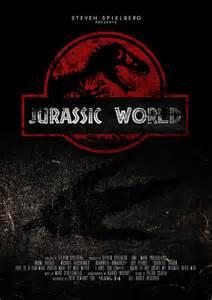 misteri film jurassic park quot jurassic world quot fan poster 2015 jurassic park
