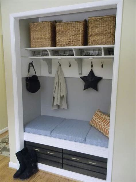front closet organization ideas 17 best ideas about entryway closet on front
