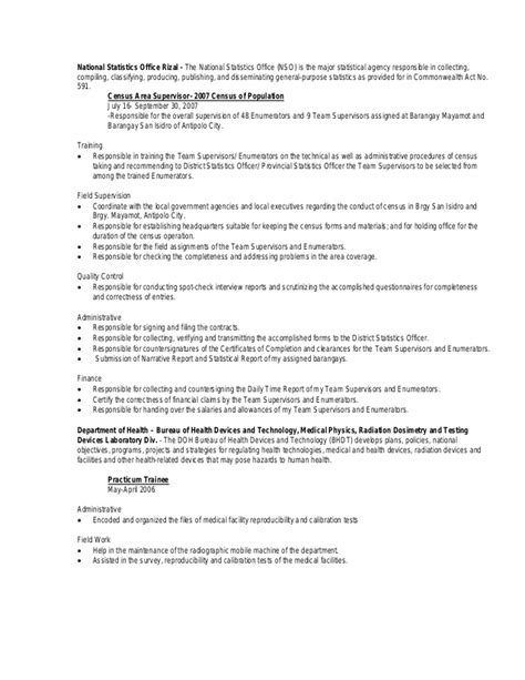 Statistician Resume Sle by Resume Statistics 28 Images Resume Allen Humbolt Statistician Resume Template Free