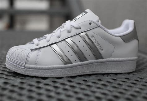 Adidas Superstars adidas superstar w schoenen wit zilver in de weare shop