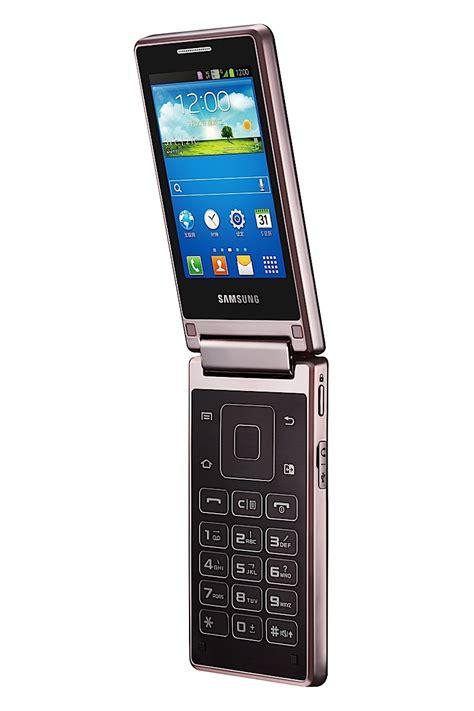 Samsung Flip Phone Samsung W789 Flip Phone With 3 3 Inch Displays Processor