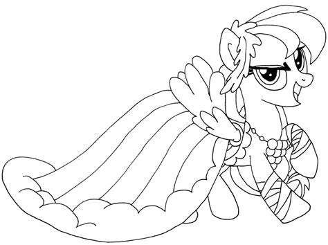 rainbow dash dress coloring page rainbow dash coloring new dress coloring pages