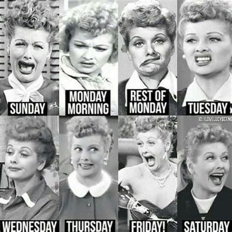 which day is today according to week days of the week according to lucille i kinda
