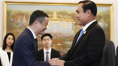 alibaba thailand alibaba thai gov enter strategic partnership in support